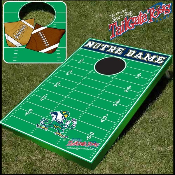 Officially Licensed NCAA Notre Dame Fighting Irish Tailgate Toss Game