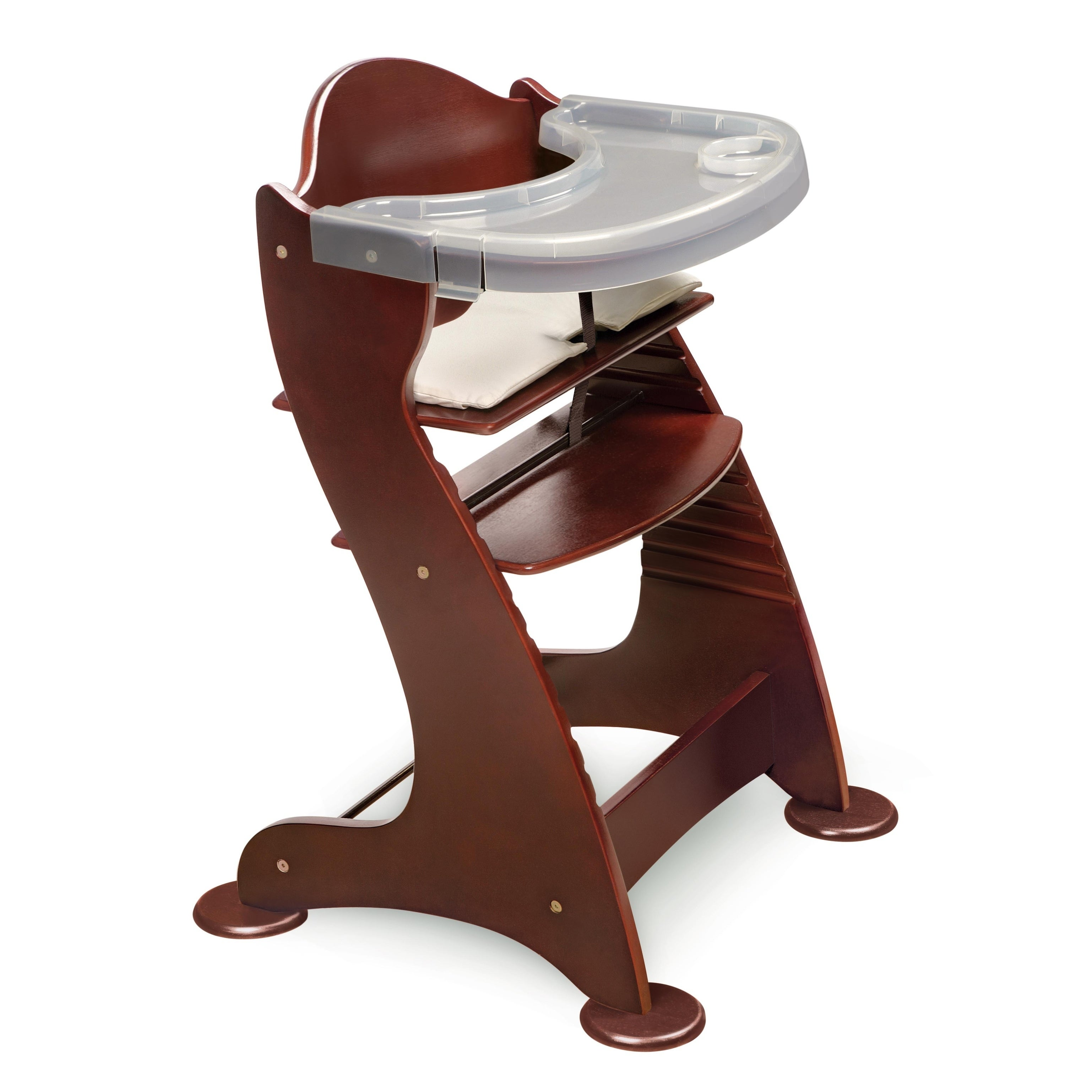 Badger Basket Embassy Wooden High Chair in Cherry (Multi-...