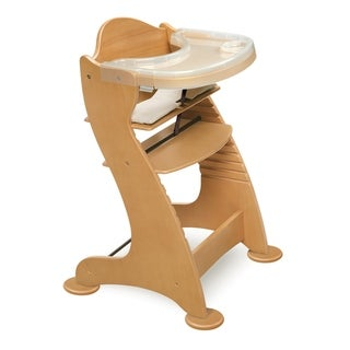 Link to Badger Basket Embassy Adjustable Wood High Chair Similar Items in High Chairs & Booster Seats