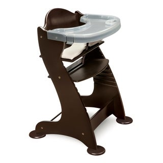 Badger Basket Embassy Epresso Wood High Chair