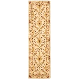 Safavieh Handmade Oushak Ivory Wool Runner (2'3 x 14')