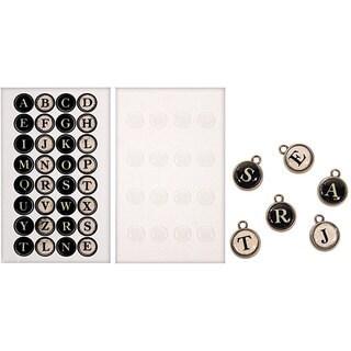 Tim Holtz Idea-Ology Typewriter Keys Stickers (Package of 16)