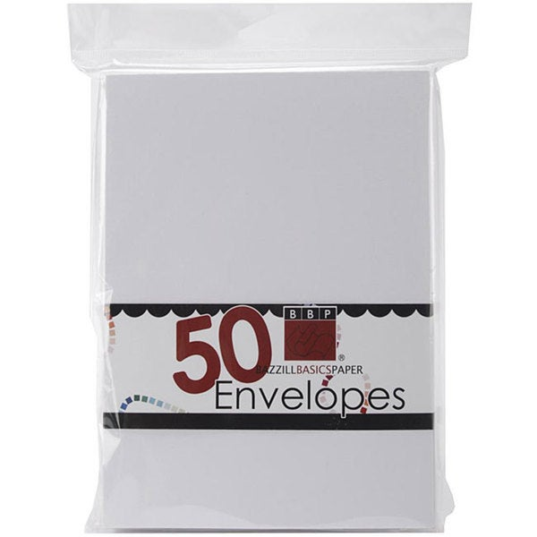 Bazzill A7 Avalanche Envelopes (Pack of 50)