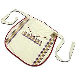 Vintage Stripe Cotton Waist Apron