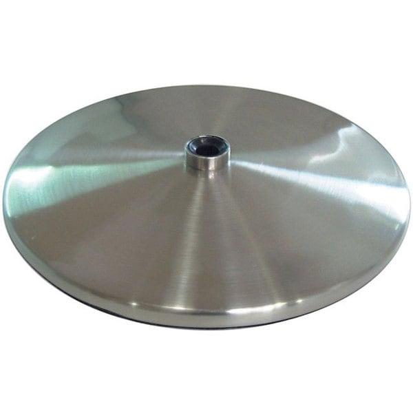 Shop Daylight Slimline Brushed Steel Table Lamp Base