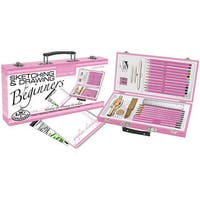 Pink Sketching/ Drawing For Beginners Artist Kit