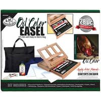 Royal & Langnickel Oil Color Easel Artist Kit