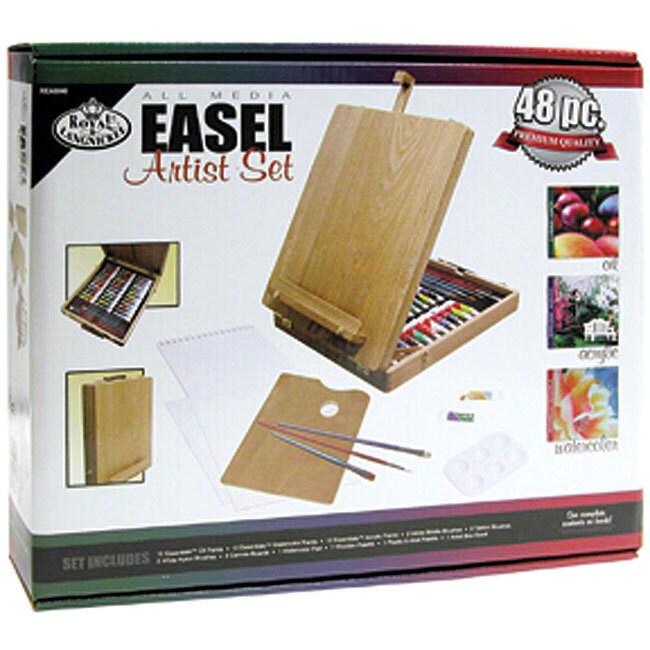 Royal Brush All Media Easel 48-piece Artist Kit (All Medi...
