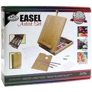 All Media Easel 48-piece Artist Kit|https://ak1.ostkcdn.com/images/products/4615439/P12543797.jpg?impolicy=medium