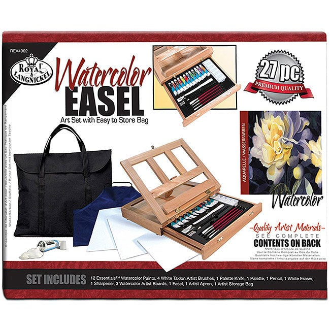 Royal Brush Watercolor Painting Easel Artist Kit (Waterco...