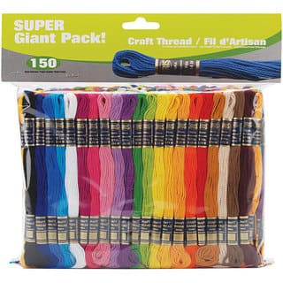 Iris Super Giant Value Pack Craft Thread Skeins (Pack of 150)|https://ak1.ostkcdn.com/images/products/4615742/P12544040.jpg?impolicy=medium