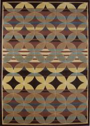 Multicolored Mesa Rug (5'3 x 7'2)