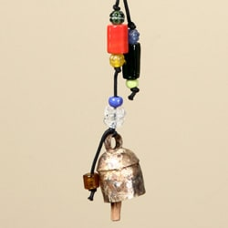 'Love Birds on a Tree' Wind Chime (India) - Thumbnail 1