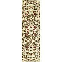 Safavieh Handmade Classic Ivory Wool Runner Rug (2'3 x 12')