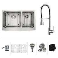 Buy Farmhouse Sink Faucet Sets Online At Overstock Our Best Sinks Deals