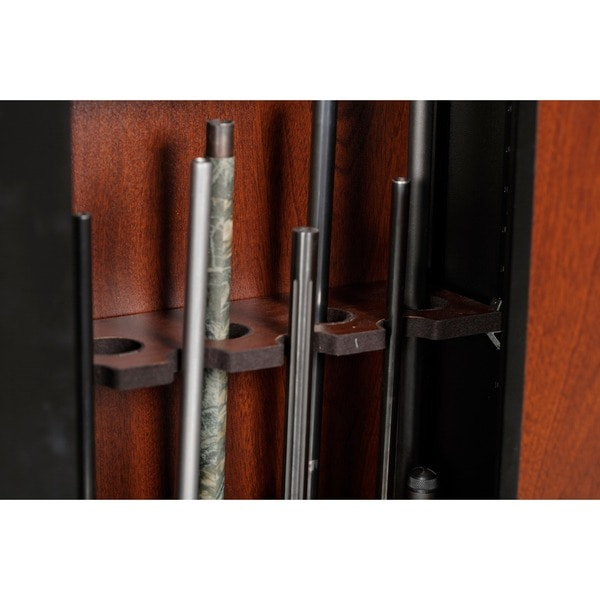 American Furniture Classics 910 Woodmark Series 10 Gun Cabinet   Free  Shipping Today   Overstock.com   12580813