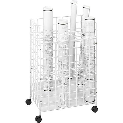 Safco Tiered 24 Compartment Wire Roll File