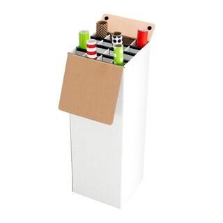 Safco 16-compartment Compact KD Roll File