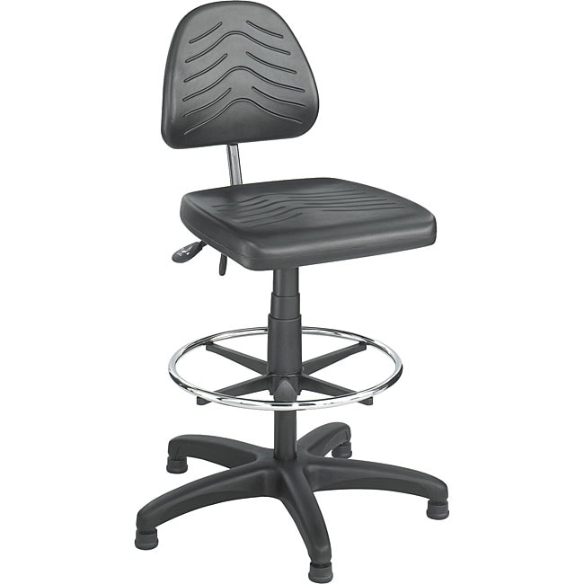 Safco Task Master Deluxe Workbench Height Chair (Black)