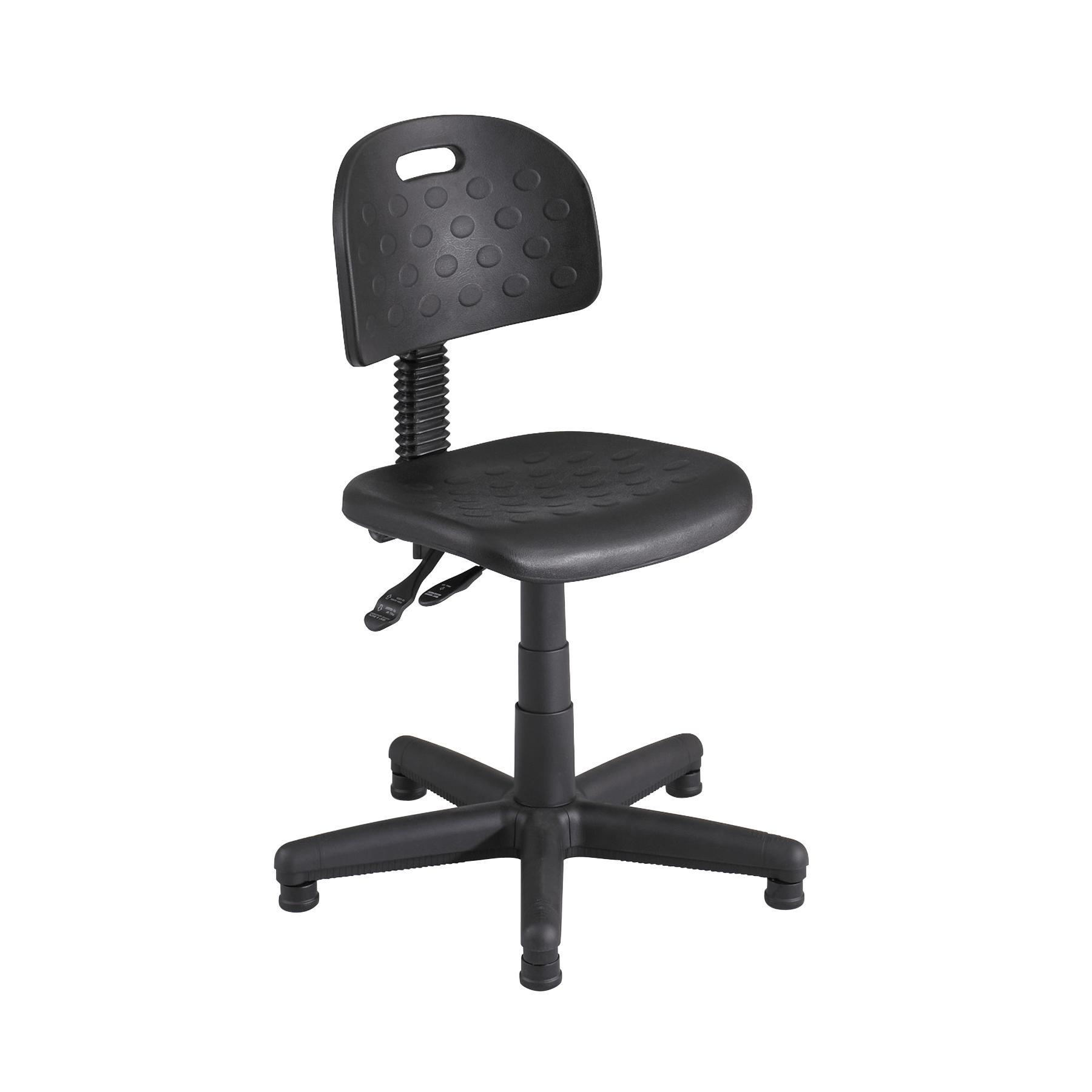 Exceptionnel Safco Desk Height Black Chair   N/A