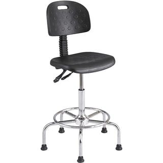 Safco WorkFit Articulating Black Stool