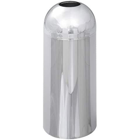 Safco Reflections Open Top Trash Bin