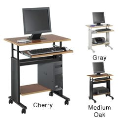 Safco MUV 29-inch Adjustable Height Computer Workstation Desk