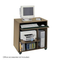 Safco Ready-to-use Computer Workstation Desk - Thumbnail 2