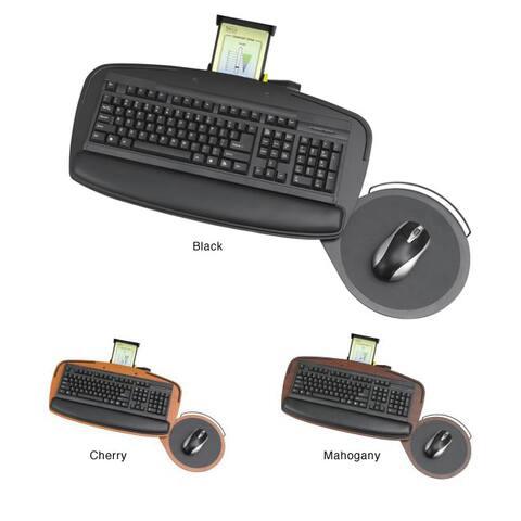 Safco Premier Ultra-thin Adjustable Phenolic Keyboard Platform