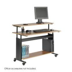 Safco MUV Extra Wide Adjustable Height Workstation Desk