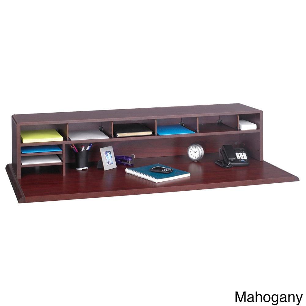 """Safco Low Profile Desk Top Organizer - 32.32""""w x 32""""d x 32""""h"""