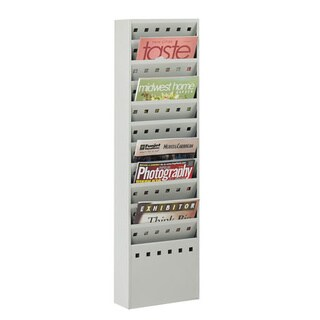 Safco 11-pocket Steel Magazine and Business Literature Display Rack