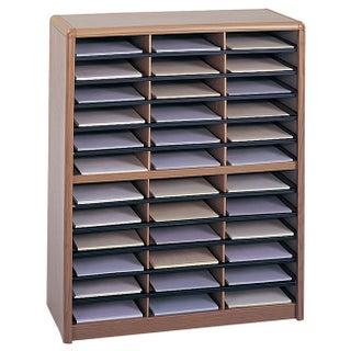 Safco 36 Compartment Value Sorter Literature Organizer