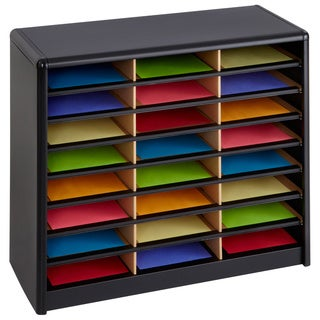 Safco 24-compartment Literature Organizer