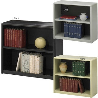 Safco Steel 2-shelf Bookcase