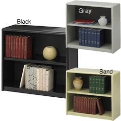 Safco Steel 2-shelf Bookcase