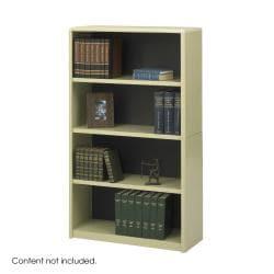 Safco Value Mate Steel 4-shelf Bookcase