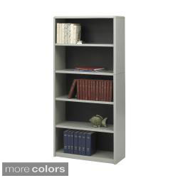 Safco Value Mate Steel 5-shelf Bookcase (2 options available)
