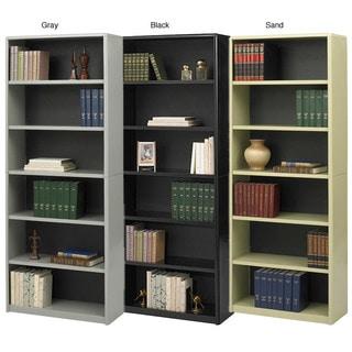 safco value mate steel 6shelf bookcase