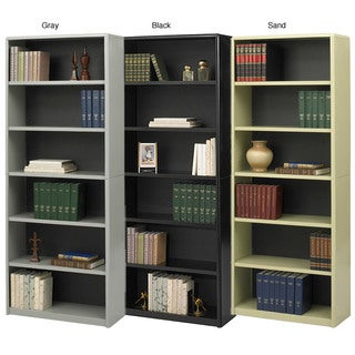 Safco Value Mate Steel 6-shelf Bookcase