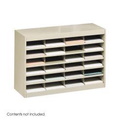 Safco E-Z Stor Literature Compartment Shelves (Option: Tan)