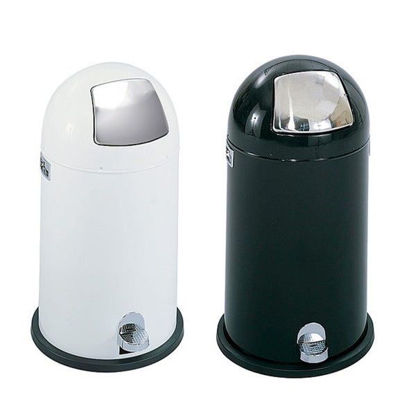 Safco Dome Step-on 12-gallon Waste Receptacle