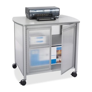 Safco Impromptu Deluxe Machine Stand with Doors (2 options available)