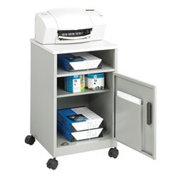 Safco Grey Machine Stand