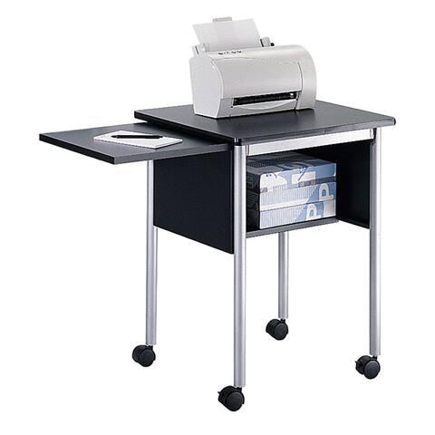 Safco Machine Stand with Slide-Away Shelf