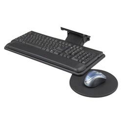 Safco Adjustable Keyboard Platform With Swivel