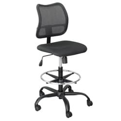 Safco Black Mesh Chair