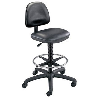 Link to Safco Black Precision Vinyl Drafting Chair/ Foot Ring Similar Items in Office & Conference Room Chairs