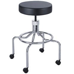 Amazing Safco Black Manual High Base Lab Stool Overstock Com Shopping The Best Deals On Office Chairs Machost Co Dining Chair Design Ideas Machostcouk