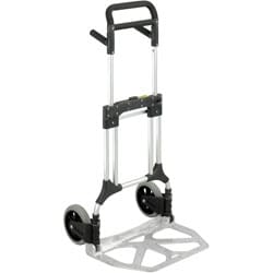 Safco Stow-away Foldable Heavy-duty Aluminum Hand-truck with Toe Plate